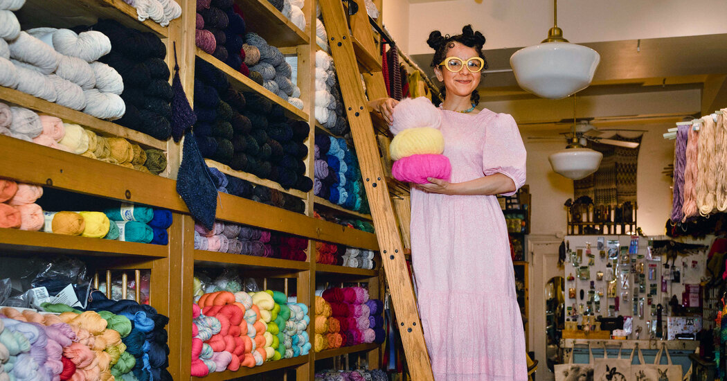 Can a Yarn Store Be a Place of Healing?