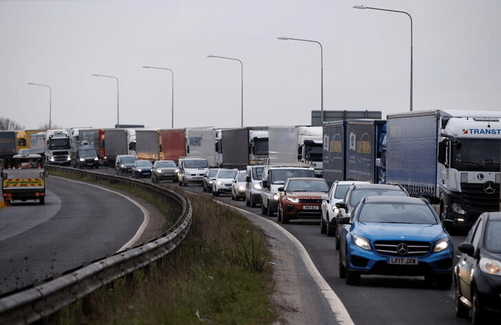 Reuters exclusively reports Dover warns of Brexit trade disruption as tourists hit Europe