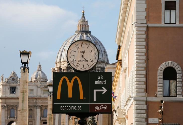 Reuters exclusively reports McDonald's faces Italian antitrust probe into franchise terms